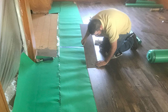 Flooring project completed by Speer Floors To Go in Modesto, California
