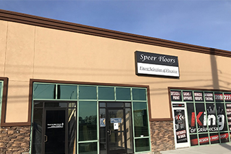 Speer Floors To Go Showroom in Modesto, California